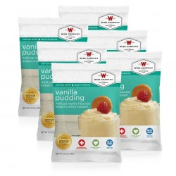 Guardian Survival Gear - FSVP6 - NEW Vanilla Pudding - 6 PACK