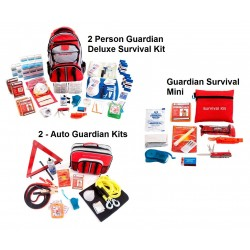 Guardian Survival Gear - PPK2 - Preparedness Package 2 Discount (SKX2, 2-SKAK, SKMK)