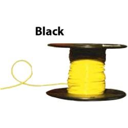 Almo Wire & Cable - 10100B - #10 Black Boat Cable, 100' Spool