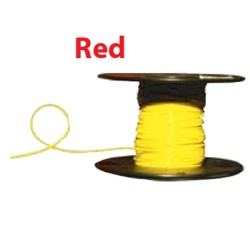 Almo Wire & Cable - 10100R - #10 Red Boat Cable 100' Spool