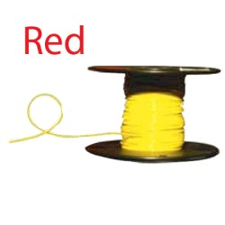 Almo Wire & Cable - 10500R - #10 Red Boat Cable, 500' Spool