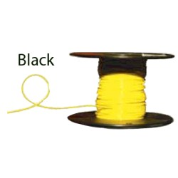Almo Wire & Cable - 14100B - #14 Black Boat Cable, 100' Spool