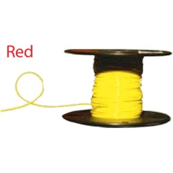Almo Wire & Cable - 4100R - #4 Red Boat Cable, 100' Spool