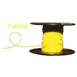 Almo Wire & Cable - 4100Y - #4 Yellow Boat Cable, 100' Spool