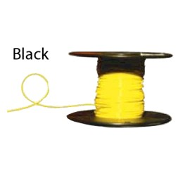 Almo Wire & Cable - 6100B - #6 Black Boat Cable, 100' Spool