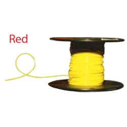 Almo Wire & Cable - 6100R - #6 Red Boat Cable 100' Spool