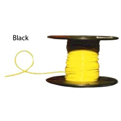 Almo Wire & Cable - 8500B - #8 Black Boat Cable, 500' Spool