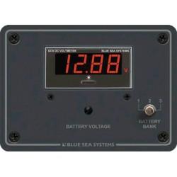 Blue Sea Systems - 8051 - DC Digital Voltmeter Panel w/ Meter