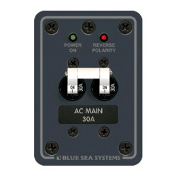 Blue Sea Systems - 8077 - Std AC, Main Breaker, 120V, 30A
