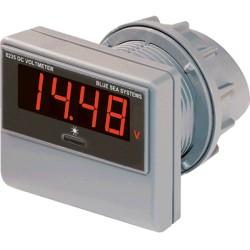 Blue Sea Systems - 8235 - Digital DC Voltmeter 0-60VDC w/ Mnt