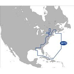 C-Map - NA-M022-SD - MAX Wide, US E. Coast & Bahamas, SD