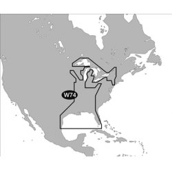 C-Map - NA-M023-C - MAX Wide, Gulf Cst, Gt. Lks, Riv, C-Card