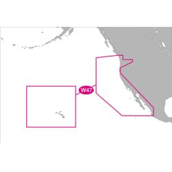C-Map - NA-M024-SD - MAX Wide, US W. Coast & Hawaii, SD