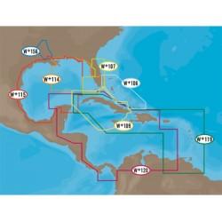 C-Map - NA-C502 - NT+, Western Caribbean Sea, C-Card