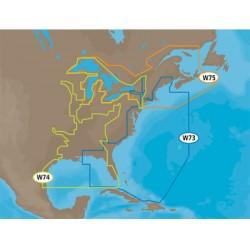 C-Map - NA-M023-SD - MAX Wide, Gulf Cst, Gt. Lks, Riv, SD