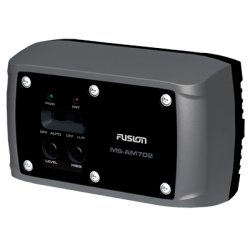 FUSION Electronics - MS-AM702 - Fusion MS-AM702 Marine Amplifier - 140 W PMPO - 2 Channel - Class D - 84 dB SNR - 10% THD - 2 x 20 W @ 4 Ohm - 2 x 33 W @ 2 Ohm