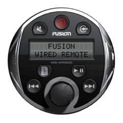 FUSION Electronics - MS-WR600C - FUSION Electronics MS-WR600 Device Remote Control - For Marine Audio Device - 19.69 ft Cable