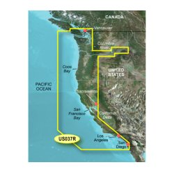 Garmin - 010-C1003-00 - Garmin VUS037R - Vancouver - San Diego - North America - United States - Boating, Driving