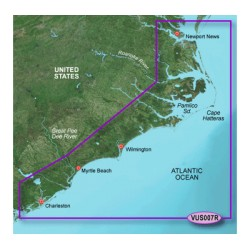 Garmin - 010-C0708-00 - g2 Vsn SD VUS007R Norfolk-Charleston
