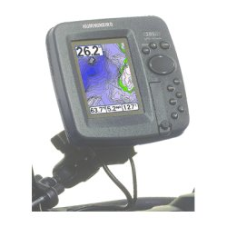 HumminBird - 740116-1 - Humminbird Ice Fishing RM ATV Marine Mount for GPS