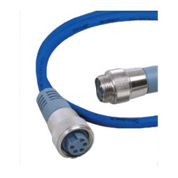Maretron - DM-DB1-DF-06.0 - Maretron Mid Double Ended Cordset - M to F - 6.0m Blue - 19.69 ft - 1 Pack - Gold Plated - Shielding - Blue, Gray