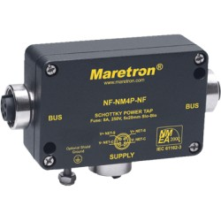Maretron - NF-NM4P-NF - Mini Powertap w/ fuse, Female to Female