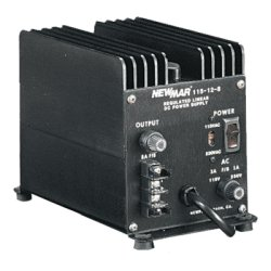 NewMar - 115-12-8 - Heavy Duty Power Supply, Input 115/230 VAC, Output 12VDC 8A