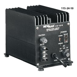NewMar - 115-24-10 - Heavy Duty Power Supply, Input 115/230 VAC, Output 24VDC 10A