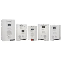 NewMar - PT-24-95U - Phase Three Series Battery Charger, Output 24 VDC, 3 Banks, 95A