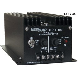 NewMar - 12-12-35I - Isolated Series DC-DC Converter, Input 10-16 VDC, Output 13.6 VDC 35A