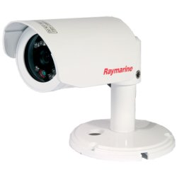 Raymarine - E03007 - Raymarine CAM100 Surveillance Camera - Color, Monochrome - Super HAD CCD - Cable
