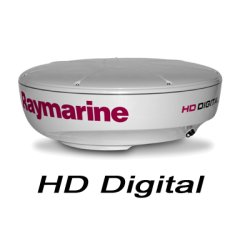 "Raymarine - E92143 - 4KW 24"" HD Digital Radome w/o Cable"
