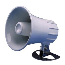 "Standard Horizon - 220SW - Hailer Horn, 5"" round, 30 Watt"