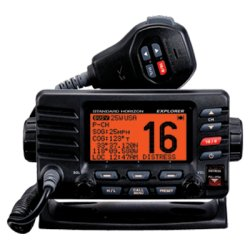 Standard Horizon - GX1600B - VHF, Explorer, Optional Remote, Black