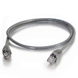C2G (Cables To Go) - 10269 - 3ft Cat5e Snagless Unshielded (UTP) Network Patch Cable (TAA Compliant) - Gray - Category 5e for Network Device - RJ-45 Male - RJ-45 Male - TAA Compliant - 3ft - Gray