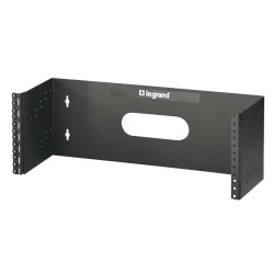 C2G (Cables To Go) / Legrand - 14622 - C2G 4Ux19in Hinged Wall Mount Bracket (TAA Compliant) - Black