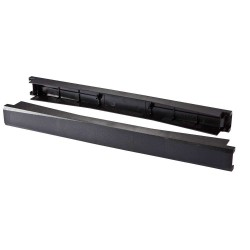C2G (Cables To Go) / Legrand - 14631 - C2G 2 Pack 1U 19in Tool-Less Snap-In Filler Panel - 1U Rack Height - 2 Pack - 19 Width