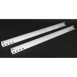 C2G (Cables To Go) / Legrand - 16282 - C2G Wiremold Evolution[TM] Series External Mounting Brackets - 50 lb Load Capacity - White