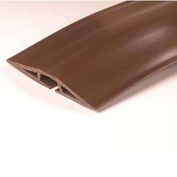 C2G (Cables To Go) / Legrand - 16329 - C2G 5ft Wiremold Corduct Overfloor Cord Protector - Brown - Protector - Brown
