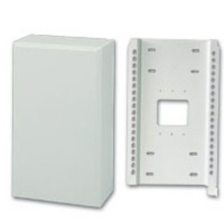 C2G (Cables To Go) - 37004 - C2G 11in Structured Wiring Bracket with Cover - Bracket - White