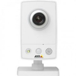 Axis Communication - 0521-004 - AXIS M1033-W Network Camera - Color - 800 x 600 - CMOS - Wireless, Cable - Wi-Fi - Fast Ethernet