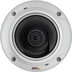 Axis Communication - 0547-001 - AXIS M3026-VE 3 Megapixel Network Camera - Color, Monochrome - M12-mount - 2048 x 1536 - CMOS - Cable - Fast Ethernet - Dome