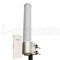 L-Com Global Connectivity - ARK5158DP-13U-2 - 5.8 GHz 13 dBi Omni Antenna / Outdoor CPE/AP Kit