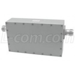 L-Com Global Connectivity - BPF24-801A - 2.4 GHz Ultra High Q 8-Pole Outdoor Bandpass Filter, Channel 1 - 2412 MHz