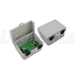 L-Com Global Connectivity - BT-CAT5E-P1-HPW - Outdoor Single-Port Passive Midspan/Injector with Hi-Pwr CAT5e Surge Protection