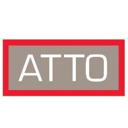 Atto Technology - FCSW-1612-D02 - 12-Port 16Gb Fibre Channel Switch, 1U Form Factor, Dual Power Supply, LC SFP+ Interface (SFP+ modules, 1 yr warranty and rack mount kit included)