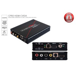 Avenview - CPRO-HDM-CVIDA - Avenview HDMI to Composite and S-Video Converter