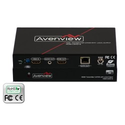 Avenview - HDM-C5XD-S - 1 X 2 HDMI Transmitter with Local HDMI Output over CAT5