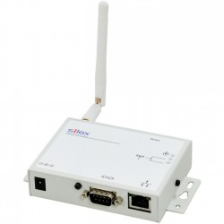 Silex - SD-320AN-US - Silex SD-320AN Wireless Serial Device Server - 1 x Network (RJ-45) x Serial Port - IEEE 802.11n - Wireless LAN - ISM Band ISM Band - UNII Band UNII Band - Desktop