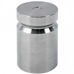 Troemner - 1203 - Troemner 1203 5 lb Class F Stainless Steel Test Weight with No Certificate, Cylindrical with Groove